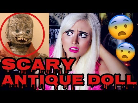 SCARY ANTIQUE DOLL IS ALIVE! | HAUNTED DOLL STORY