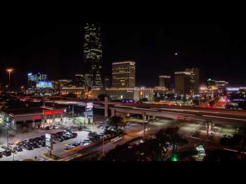 Houston Time-Lapse 4K