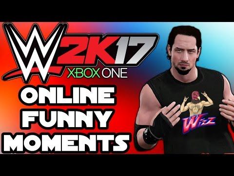 WWE 2K17 Funny Moments - A Special Intro, Extreme Backyard Brawl, GTA 5, Glitches, XBOX ONE