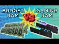Budget RAM VS Gaming RAM! Which To Buy?