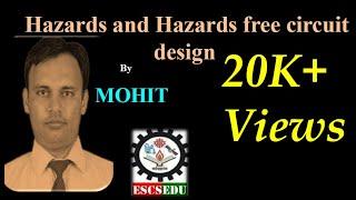 DLD-112: Hazards and Hazards free circuit design