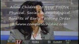 Toilet Training Begins at Birth on NBC Morning News 2004