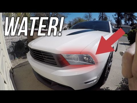 How To Remove Headlight Condensation Easiest Way Youtube