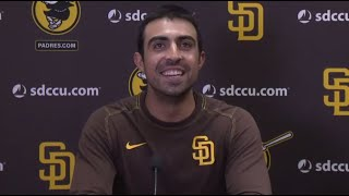 Daniel Camarena on grand slam vs. Scherzer to push Padres to win, his journey, Swagg Chain & more