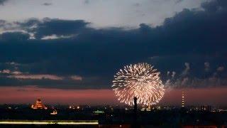 Салют День Победы в Санкт-Петербурге 9 Мая 2016 года