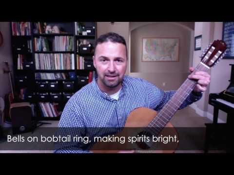 Jingle Bells (Slow) Sing Along with Lyrics