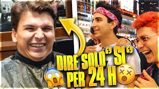 "DIRE per 24H solo ""SI"" - Klaus a TOKYO / YESMAN (*costoso*) SUB ENG"