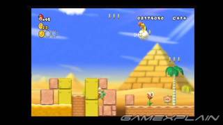 New Super Mario Bros. Wii Level 2-5 Star Coins