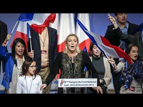 NationalFront leader MarineLePen eyes up France's 2017 presidential election