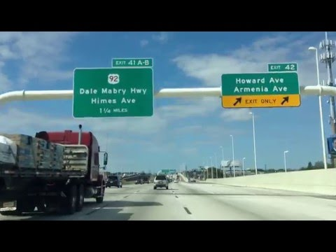 Driving Around Tampa, FL, USA part 2