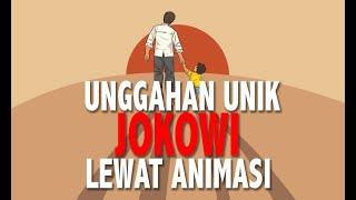Jokowi Sampaikan Pesan Perubahan Lewat Animasi