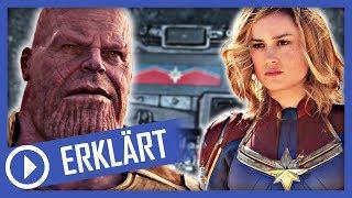 """Captain Marvel: Post Credit Scene und die Zukunft von Marvel nach """"Avengers 4"""""""