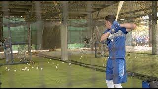Dodgers Spring Training: Cody Bellinger, Matt Kemp And Yasiel Puig Take BP