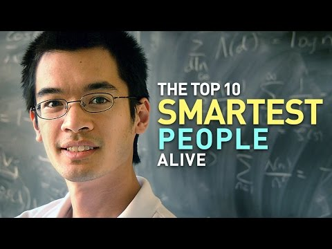 Top 10 Smartest People Alive Today