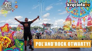 Pol'and'Rock otwarty! #polandrock2019