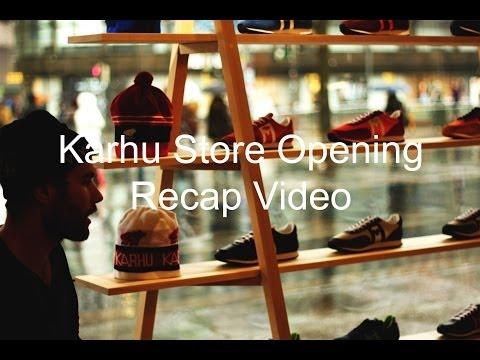 Karhu Helsinki Store Opening Recap