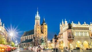 Древний   Город   Краков.    Ancient   City  of   Krakow.(Город Краков - полное официальное название — Столичный Королевский город Краков. город в Польше, расположе..., 2017-02-03T20:12:43.000Z)