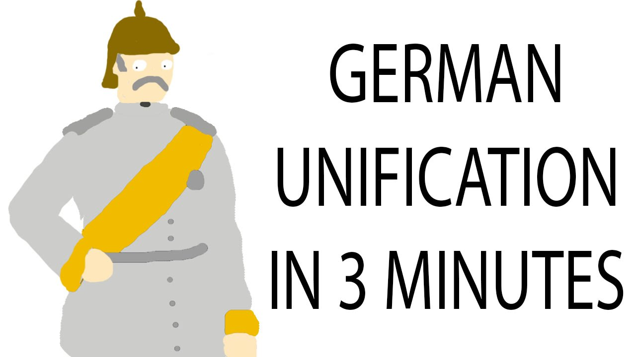 Map Of Germany Pre Unification.German Unification 3 Minute History Youtube