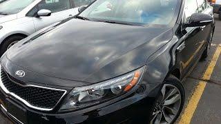 MOSTRANDO/TESTANDO UM 2014 KIA OPTIMA SX T GDI TURBO. Preco De Carros Usados Nos Estados Unidos.