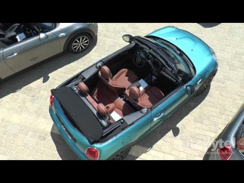 2016 MINI Convertible Test Drive Video Review