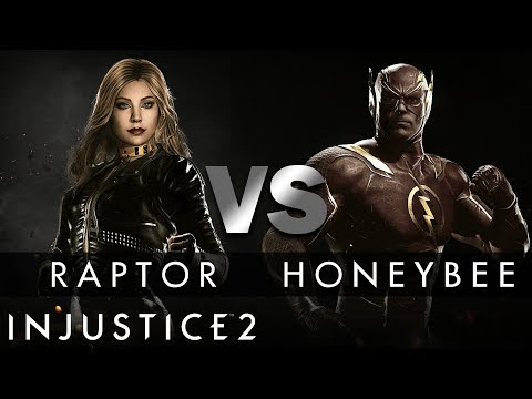 Injustice 2 - Raptor (Black Canary) vs. HoneyBee (The Flash)