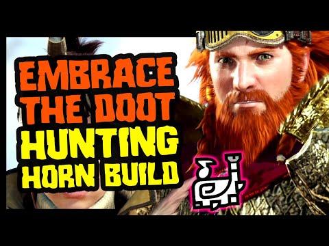 EMBRACE THE DOOT - Hunting Horn Build - Monster Hunter World