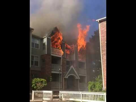 Apartment Complex Fire - Denver Tech Center - Parliament ...