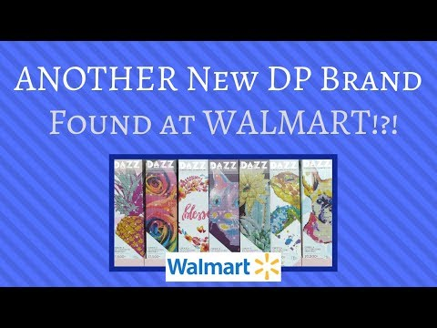 ANOTHER Diamond Painting Brand Found At WALMART??? DAZZ Dimensional Art Unboxing