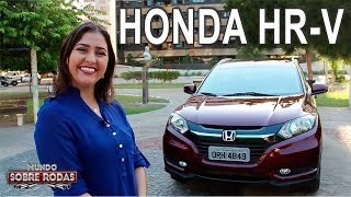 Test Drive Honda HR-V EXL 2016 em Detalhes