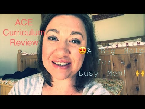 ACE Curriculum Review {A Big Help for a Busy Mom!}