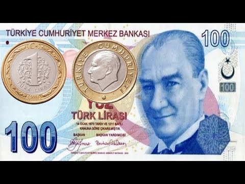 Turkey Currency Coins And Notes