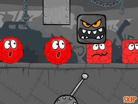 Red ball 4 Volume 1 RED Bilberry Complete game walkthrough with BOSSES killed