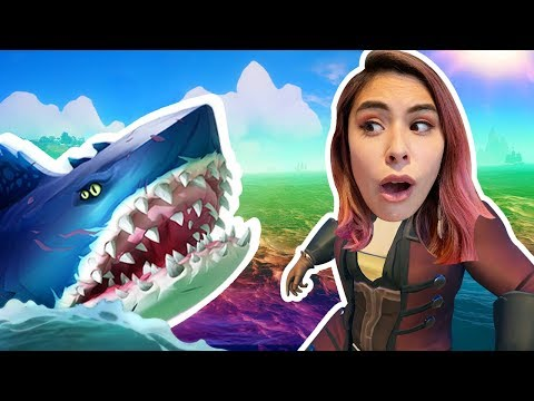 LOST AT SEA WITH THE MEG - Sea of Thieves