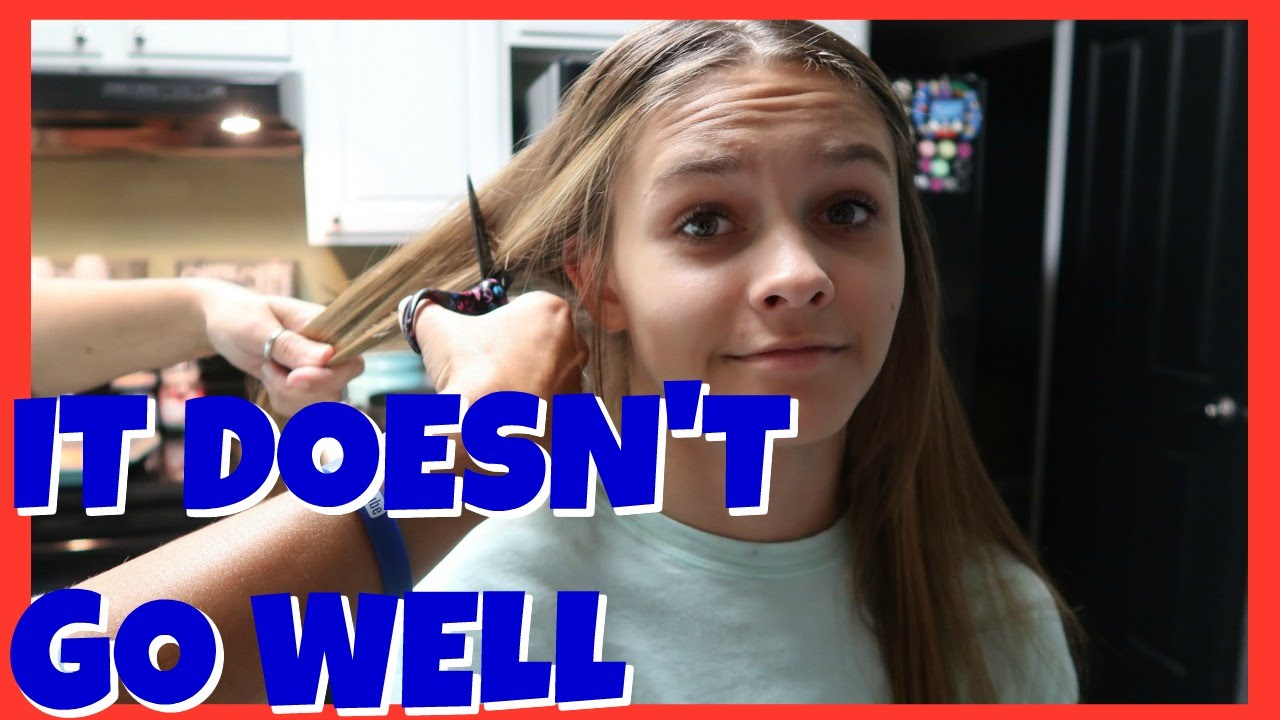 ? short hair cut for emma ? | ?this is not good? | winners | emma &  ellie