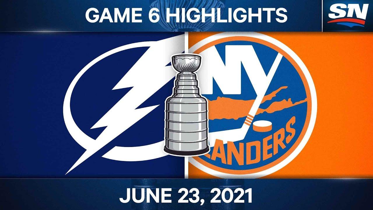Islanders vs. Lightning Game 6: Anthony Beauvillier scores in OT for ...