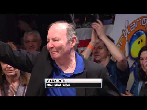 Mark Roth Receives Standing Ovation During 2015 PBA League