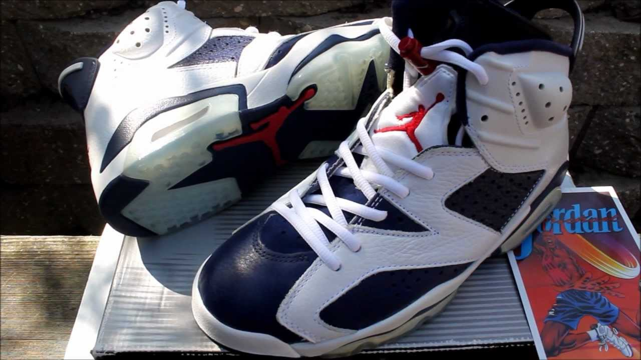 separation shoes cf2ab 9a8ff 2000 JORDAN VI 6 OLYMPIC - YouTube