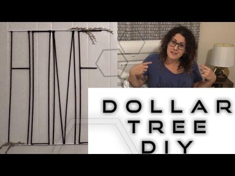 DIY Dollar Tree|| large Home Wall decor|| modern Farmhouse|| tutorial