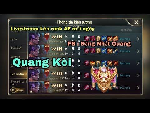 Quang Kòi - Rank Bk+KC+TA nè mọi người ơi |Liên Quân Mobile