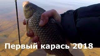 Первый карась 2018 года, Фидер, Рыбалка