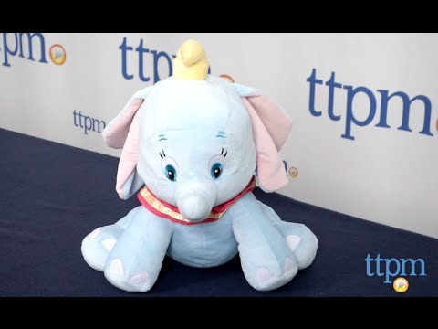 Disney Baby Dumbo Musical Waggy Plush from Kids Preferred