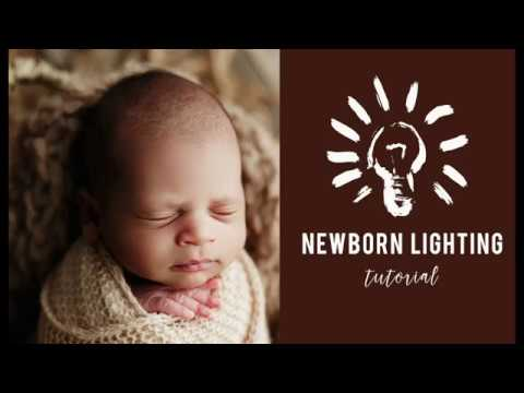 Newborn Photography Lighting Tutorial || 2019 Series