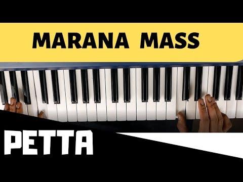 Petta   Marana Mass   Keyboard Tutorial   Anirudh Ravichander   Ragul Ravi