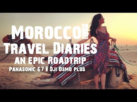 Morocco: Travel diaries of an epic roadtrip 1of2 in 4K