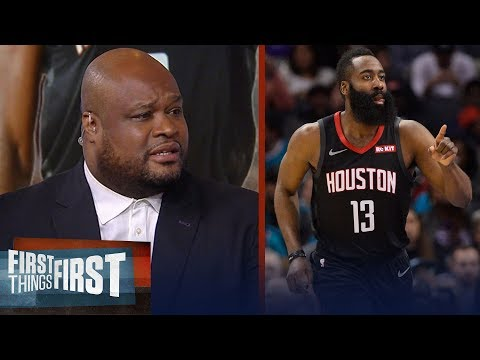 Antoine Walker on James Harden's 58-pt night in Rockets' win over Heat | NBA | FIRST THINGS FIRST
