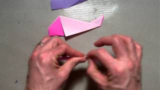 Origami Simple Fish (adaptation)