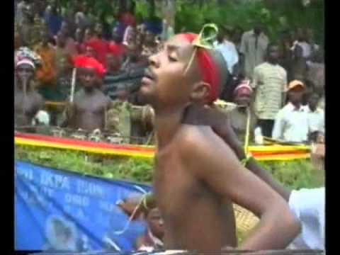 Magic Sword Vodoo Festival in Africa.