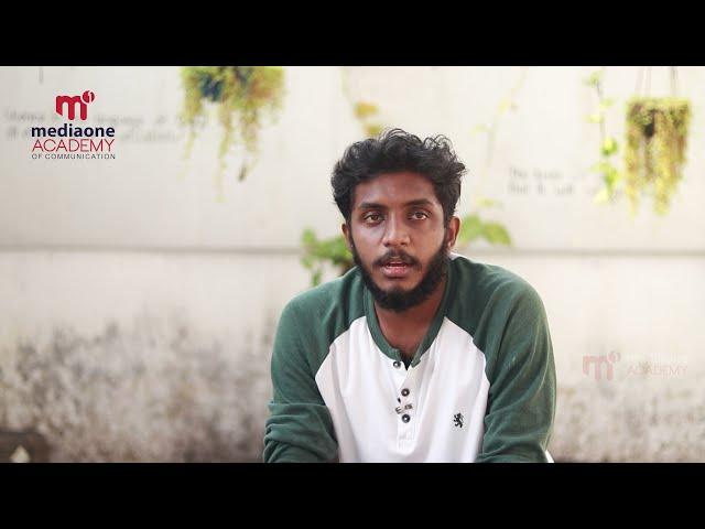 Testimonial Video   Ashkar A S   Mediaone Academy