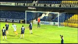 Southend 2-2 Macclesfield (3-5 pens) - The FA Cup 1st Round Replay - 16/11/10