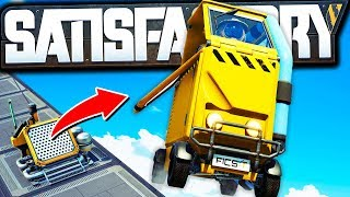 Spending All Our Coupons on Factory Cart Stunts! - Satisfactory Early Access Gameplay Ep 3